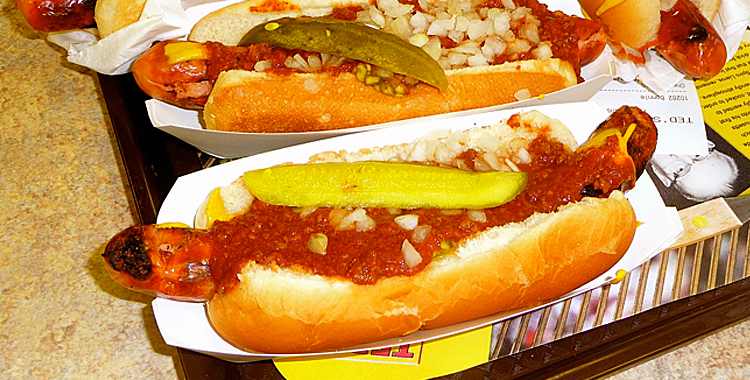 Ted's hot dogs coupons