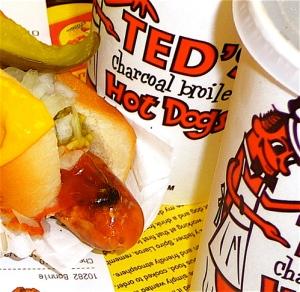 BUFFALO, NY / TESD'S HOT DOGS CLOSE UP