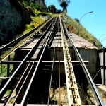 VALPARAISO, CHILE / ASCENSOR ARTILLERIA TRACKS TO THE SKY