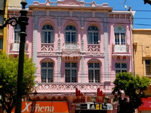 VALPARAISO, CHILE / A BUILDING ON CALLE PEDRO MONTT