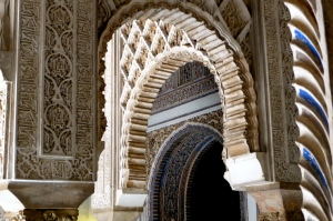 ALCÁZAR OF SEVILLE / ARCHES