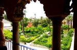 ALCÁZAR OF SEVILLE / GARDEN VIEW