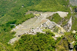 MACHU PICCHU / VIEW FROM ABOVE