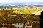 SAN GIMIGNANO, ITALY / SOARING VIEW OF TUSCANY